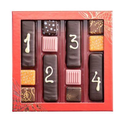 Advent kalender, fyldt chokolade