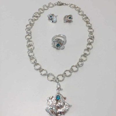 Unika håndlavet sølvsmykker